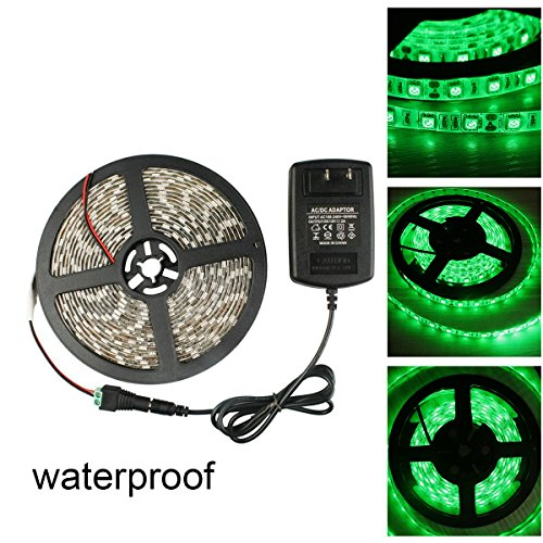 12 Volt Green Led Light Strips Waterproof - 5