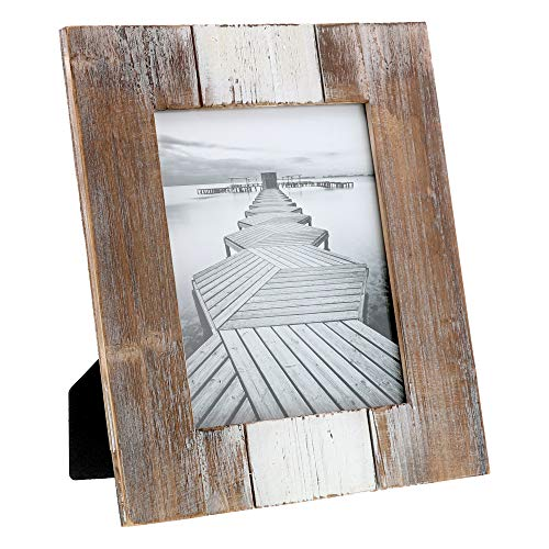 (Barnyard Designs Rustic Farmhouse Distressed Picture Frame - Unfinished Wood Photo Frame 8