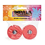Impala Roller Skates 2 Pack Stopper with Bolts - Red