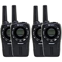 4) COBRA CXT225 MicroTalk 20 Mile GMRS/FRS 22 Channel 2-Way Radio Walkie Talkies