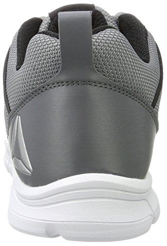 Reebok Speedlux 2.0, Chaussures de Running Homme Noir (Alloy/Black/White/Silver)
