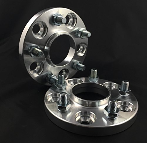 2pc Hub centric Wheel Spacers Adapters | 5x108 | 63.4 CB | 20mm Jaguar Ford by Customadeonly