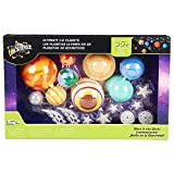 Edu Science Glow in the Dark 35+ Piece Ultimate 3D Planets Set