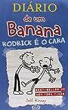 capa de Diário de Um Banana 2. Rodrick É o Cara