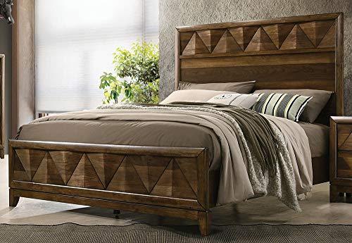 ACME Delilah Eastern King Bed - - Walnut