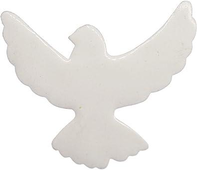 Miniblings Colombe De La Paix Colombe Oiseau Broche Boutons