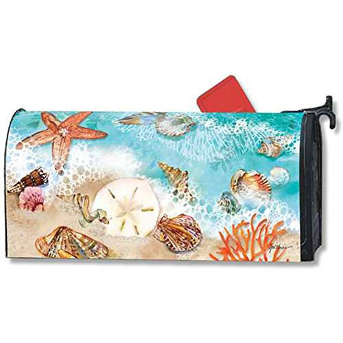 Mailwraps Seashore Treasures Mailbox Cover 03405
