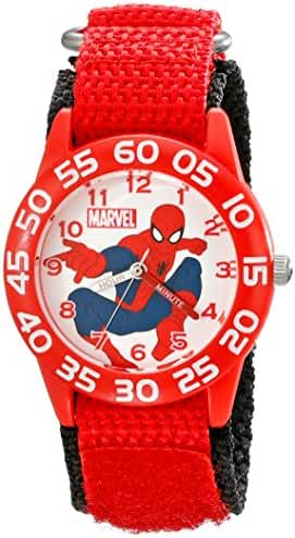 Marvel Kids' W001718 Spider-Man Analog Display Analog Quartz Red Watch