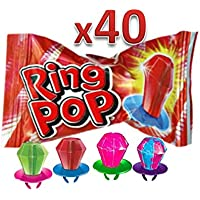Dulces Ring Pop (40 Pzs)