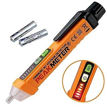 seesii pm8908 C sin contacto probador de voltaje AC Detector de voltaje, comprobador de herramientas