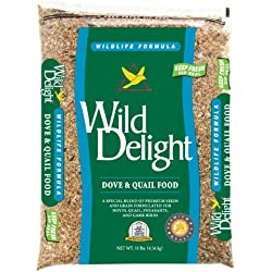 Wild Delight 388410 Dove and Quail Food, 10 Pounds