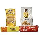 VittleItaly: Cookie Set of Italian Specialties! (Amaretti, Cantuccini, Savoiardi, Sfogliatine Glassate) [ Italian Import ]
