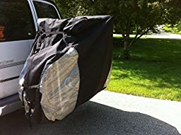 Dual Bike cover for transport on rack , for 1-2 bikes.