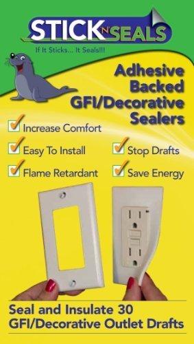 50 Pack Stick 'N' Seal Home Sealing Kit-RECTANGULAR by Airtite