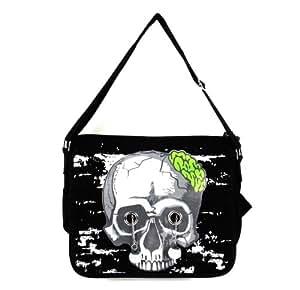 Zombie Skull Crossbody Bag With Popping Eyes