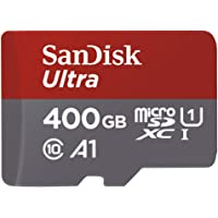SanDisk 400 Ultra microSDXC™ and microSDHC™ UHS-I Card with Adapter - HD - SDSQUAR-400G-GN6MA