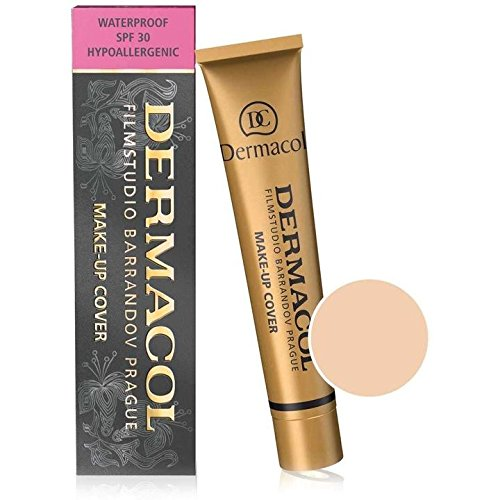 Dermacol Make-up Cover – Waterproof Hypoallergenic Foundation 30g 100% Original Guaranteed (207)