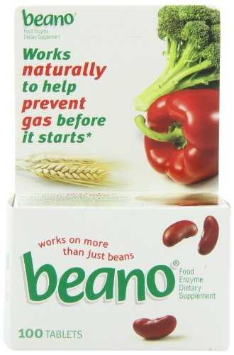 Beano Gas Prevention Tablets, 100 ct