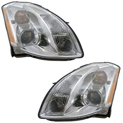 amazon com 2004 2005 2006 nissan maxima headlight headlamp2004 2005 2006 nissan maxima headlight headlamp composite halogen (non hid, without xenon
