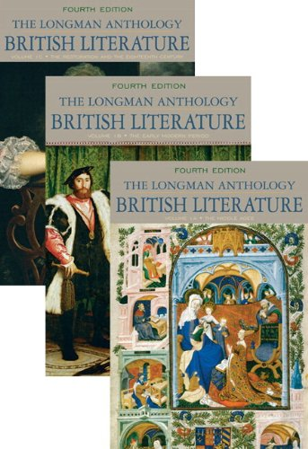 Longman Anthology of British Literature, The, Volumes 1A, 1B, and 1C, Plus MyLab Literature -- Access Card Package (4th Edition)