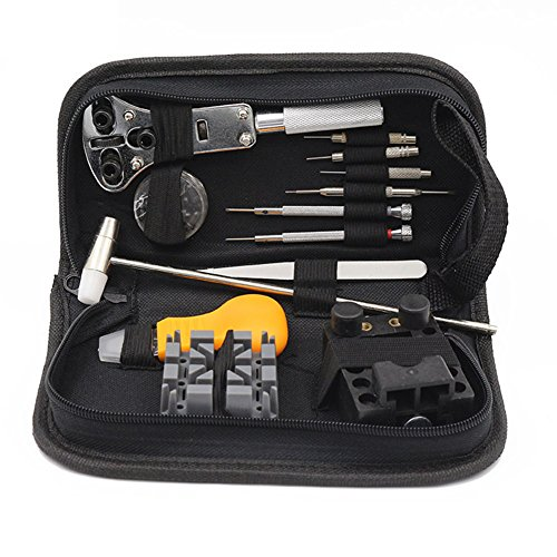 Elgin Bezel Watch (Yamde 13 Piece Watch Link Repair Remover Holder Tool Kit Set)