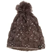 CTR Chaos Women s Jacory Knit Pom Hat Ebony One Size