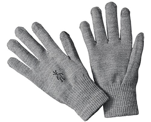 Smartwool Unisex Liner Glove Silver Gray Heather SM