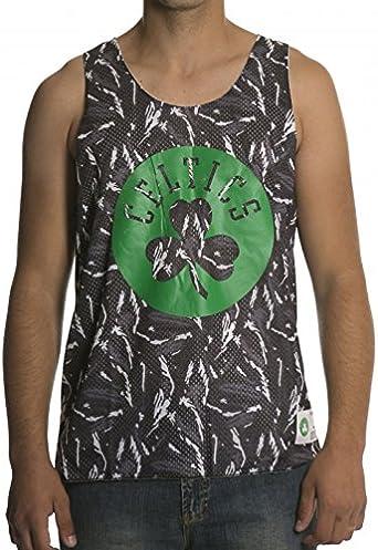 Mitchell & Ness Camiseta de Tirantes NBA Reversible Mesh Tank ...