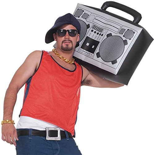 Forum Novelties Hip Hop Inflatable Boom Box