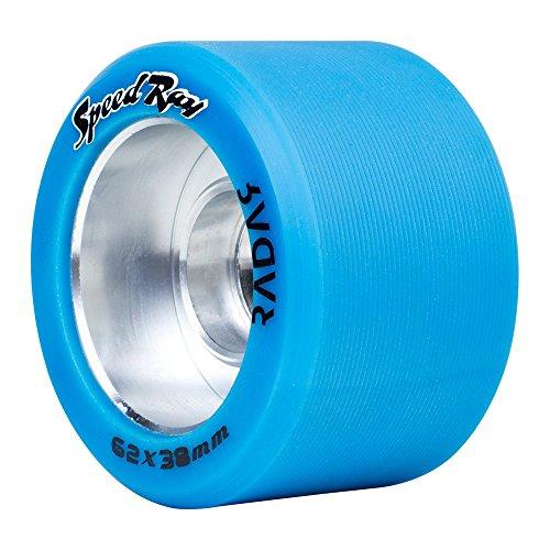 Riedell Skates Radar Speed Ray Indoor Skate Wheels (Set of 4)