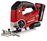 Einhell TE-JS 18 Li Kit 18 V Power X-Change Jigsaw Kit - Black/Red