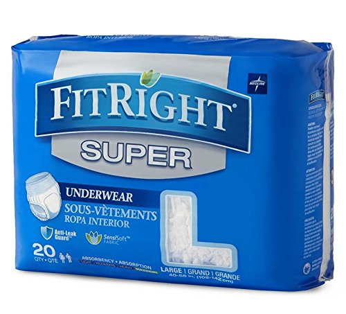 FIT33505A - FitRight Super Protective Underwear,56.00