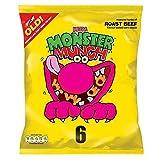 Walkers Monster Munch - Roast Beef (6x25g) - Pack of 2