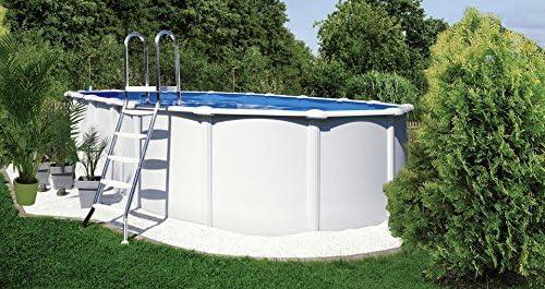 kwad Set (5 piezas): » ovalado Pool pie con acero inoxidable ...