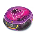 KID DESIGNS Descendants Radio Player Boom Box with Mic (DE430 CD), Purple