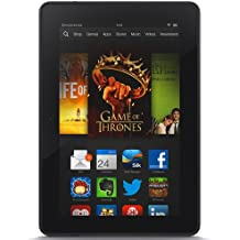 """Certified Refurbished Kindle Fire HDX 7"""", HDX Display, Wi-Fi, 64 GB - Includes Special Offers (Previous Generation - 3rd)"""