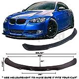 #5: Universal Front Bumper Lip Flat Under Panel Splitter Plate Diffuser E90 E92 (MEASURE your bumper BEFORE purchase: 66.75