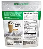 MCT Oil Powder - Delicious Creamer For Coffee, Tea, Shake, or Smoothie. High Fat, Low Carb Supplement. Mixes Instantly and Digests Easily For Energy & Appetite Control - 6 oz