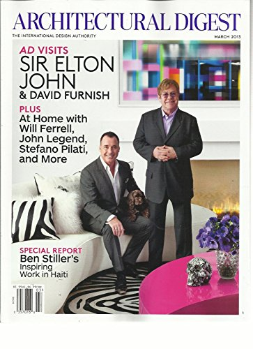 - ARCHITECTURAL DIGEST, MARCH, 2013 (THE INTERNATIONAL DESIGN AUTHORITY)