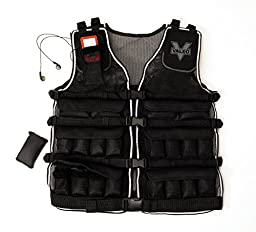 Valeo 20-Pound Weighted Vest With Removable 1 Pound Packs For Adjustments And Convenient Accessory Pocket