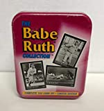 Babe Ruth Limited Edition complete 165 trading card set with Collector Tin