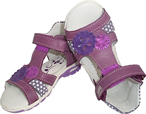 Renbut Mädchen Baby Kinder Sandalen Babyschuhe Sommer Schuhe Leder Violett Lila Violett