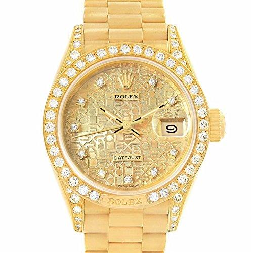 Rolex Day-Date Automatic-self-Wind Female Watch (Certified (Ladies Rolex Date Watch)