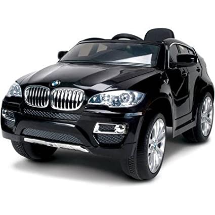 Amazon Com Huffy Bmw X6 6 Volt Battery Powered Ride On Black Toys