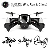 Udirc U841-1 2.4Ghz 4in1 (Fly, Run & Climb) RC Quadcopter Drone w/ 2MP HD Camera