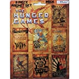 The Hunger Games Propaganda Posters 8-piece Magnet