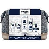 Nivea Men Complete Skin Care Collection for Sensitive Skin, 5 Piece Gift Set, 34.7 Fl Oz