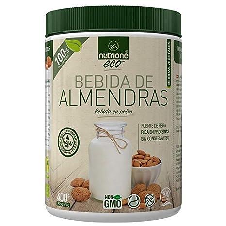 Nutrione Eco Bebida de Almendras 400 gr: Amazon.es: Salud y cuidado personal