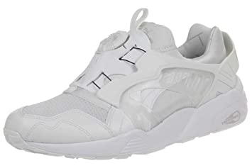 size 40 43119 0a6b6 Puma Disc Blaze-UP Core Zapatillas Sneakers Blanco para Hombre Trinomic