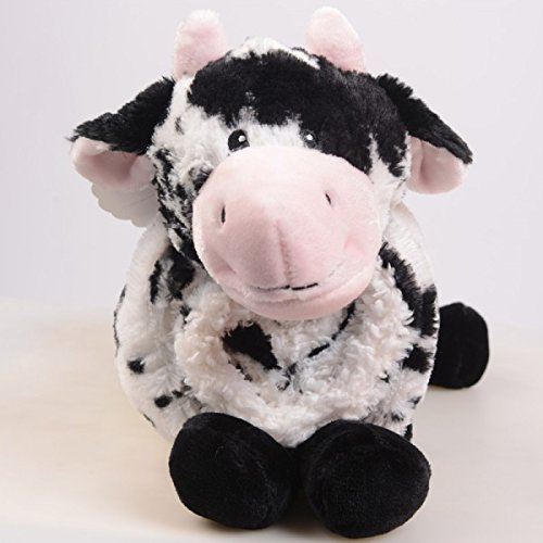 little-miracles-baby-blanket-plush-cow-snuggle-me-sherpa